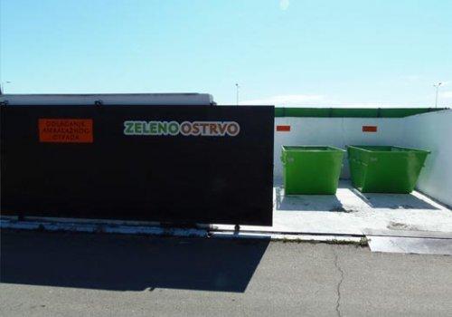 Zeleno ostrvo za reciklažu otpada na Veletržnici Beograd