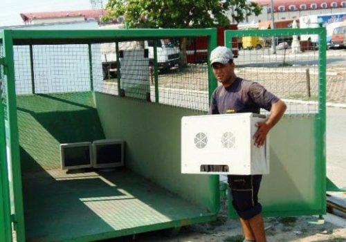 Reciklaža električnog i elektronskog otpada na Veletržnici Beograd